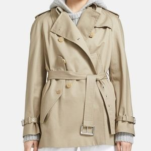 Michael Kors Collection Cape Trench Jacket NWT 10